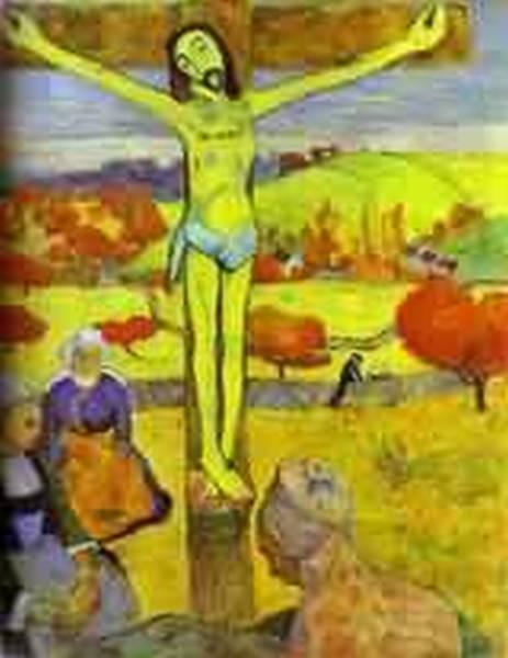 The yellow christ 1889 albright knox art gallery buffalo